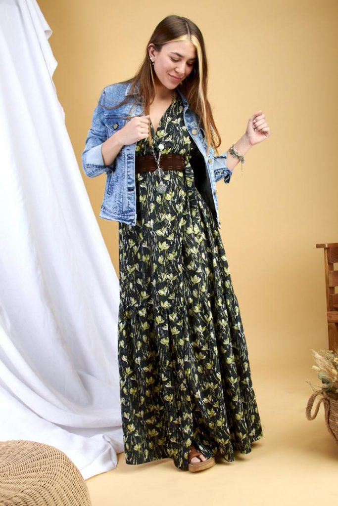 verano 2021 vestido estampado mujer coleccion primavera kevingston