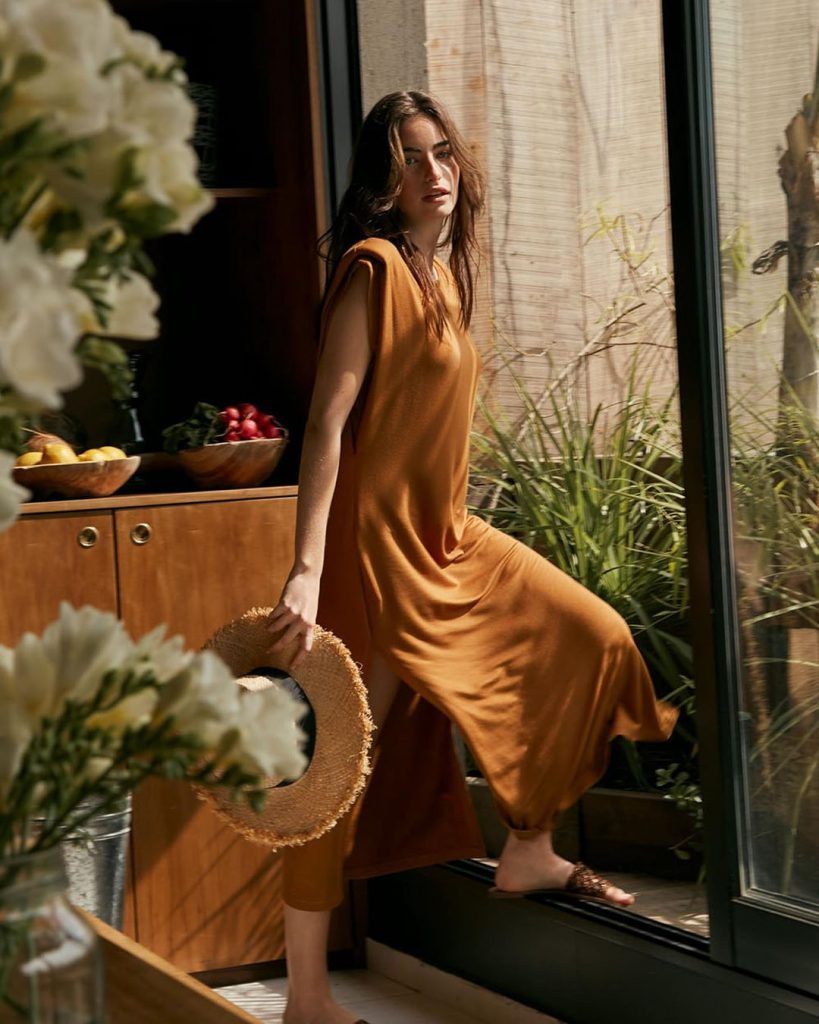 vestido casual informal marcela pagella verano 2021