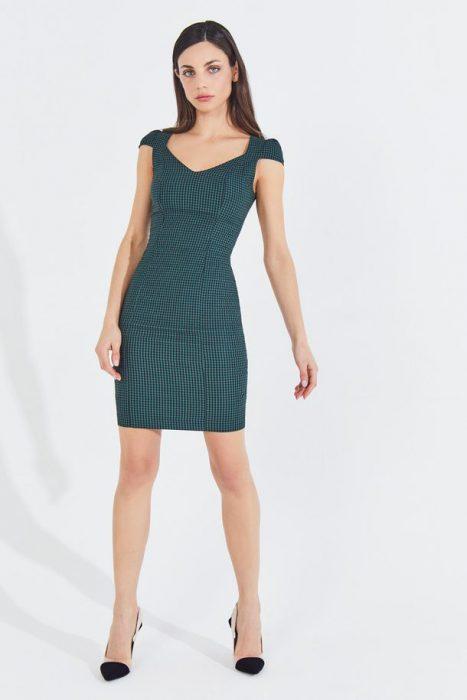 vestido corto sastrero markova verano 2021