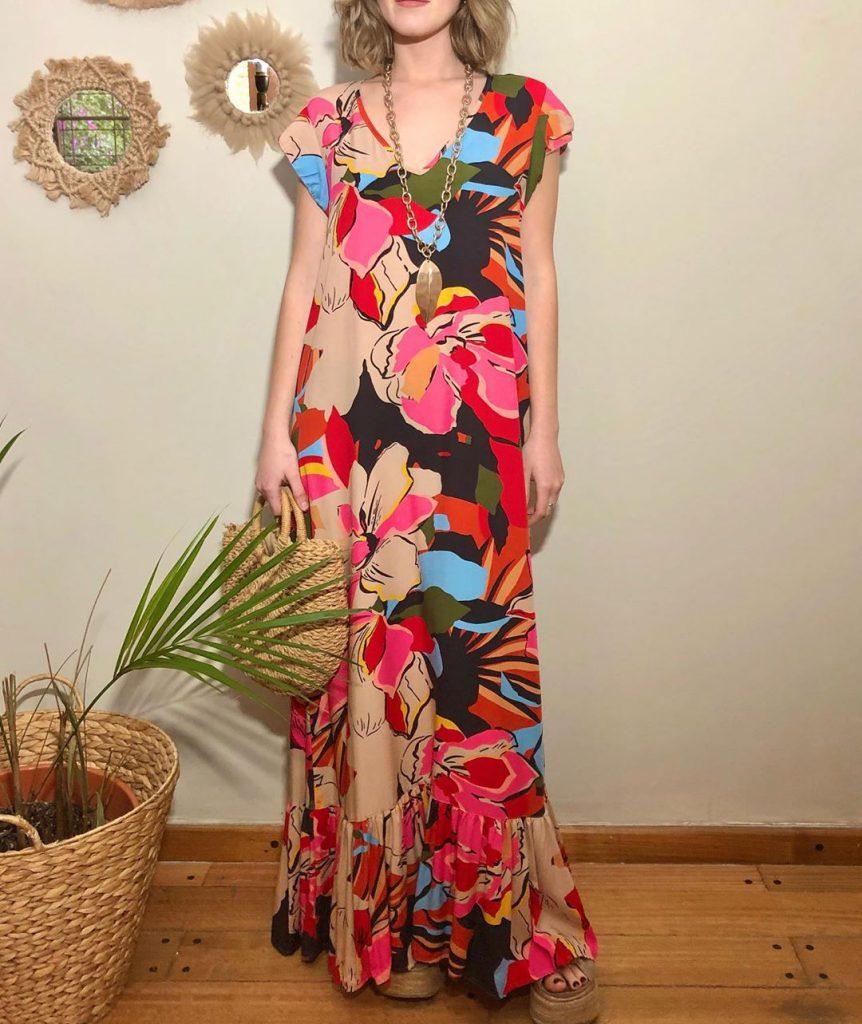 vestido estampado De Pies A Cabeza verano 2021
