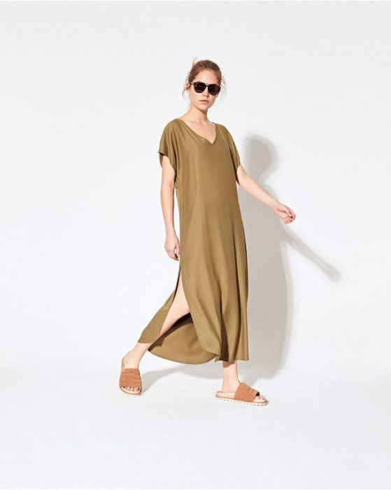 vestido tunica casual System verano 2021