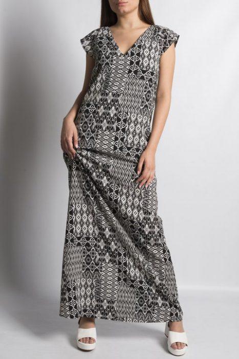 vestido tunica estamapado Clan Issime verano 2021