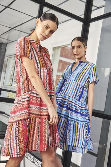 vestidos estampados Benito Fernandez verano 2021