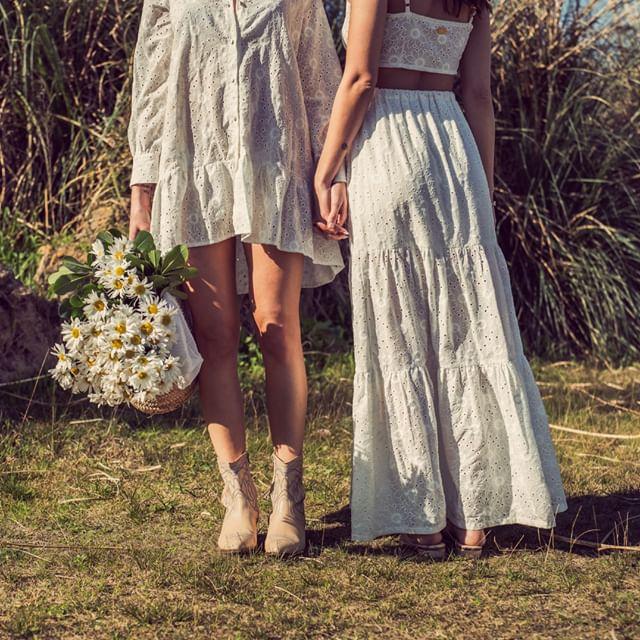 vestidos y faldas de bambula verano 2021 mille
