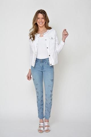 Moravia Jeans bordado verano 2021