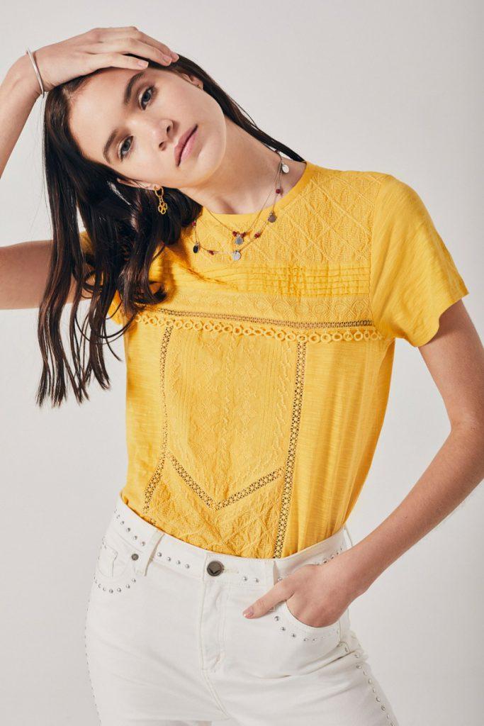 blusa amarilla Rapsodia verano 2021
