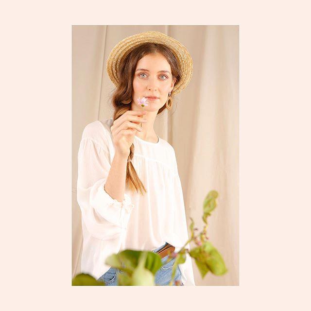 blusa blanca ted bodin verano 2021