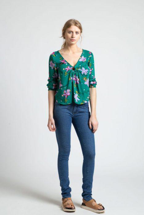 blusas informales mujer Inversa verano 2021