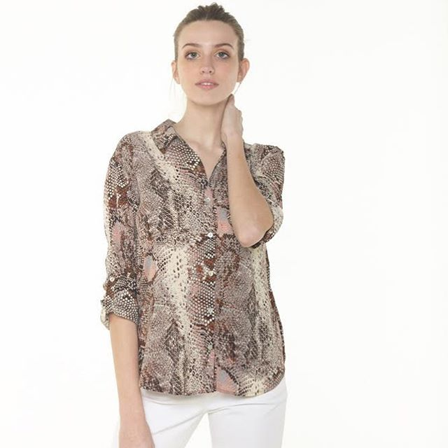 camisa animal print Julien verano 2021