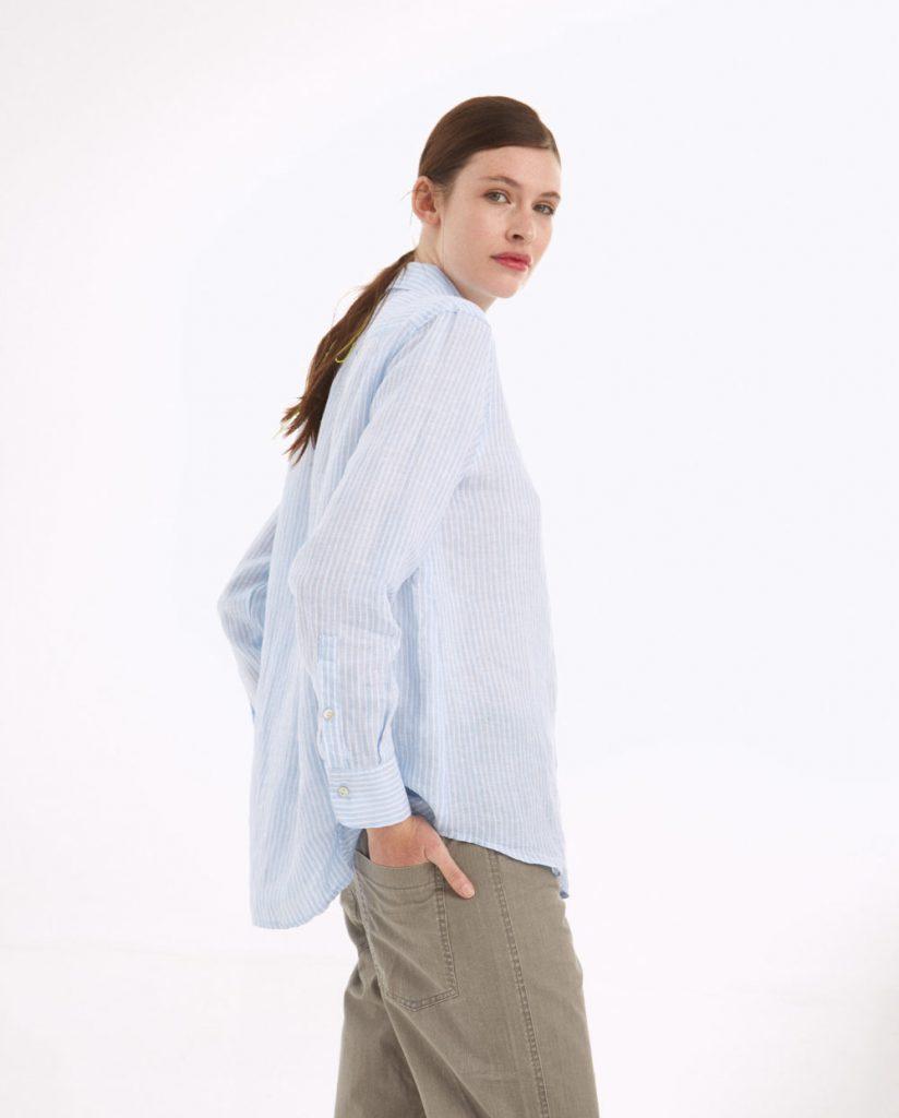 camisa asimetrica Graciela Naum verano 2021