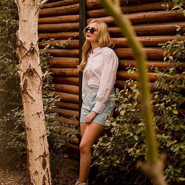 camisa blanca mujer Eva Miller verano 2021
