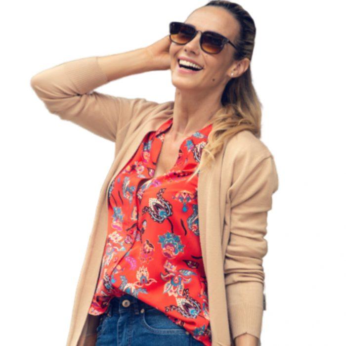 camisa estampada mujer Normandie verano 2021