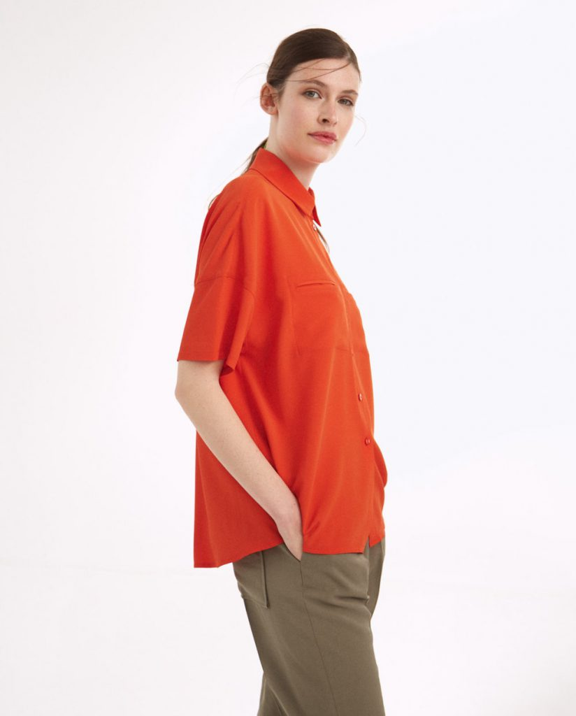 camisa mangas corta colores Graciela Naum verano 2021