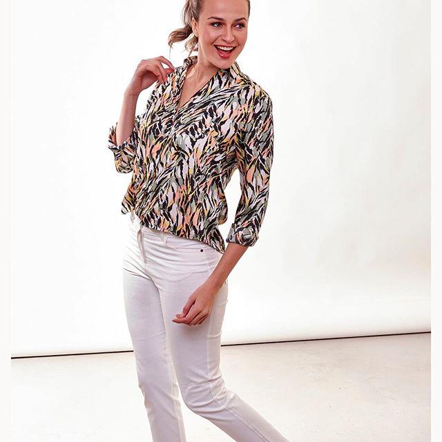 camisas estampadas mujer AG Store Looks para mujer verano 2021