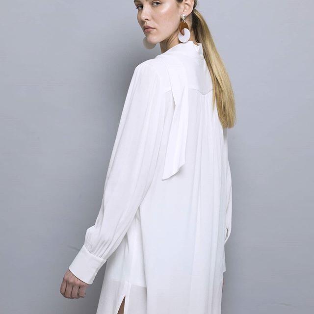 camisas largas blanca cardon verano 2021