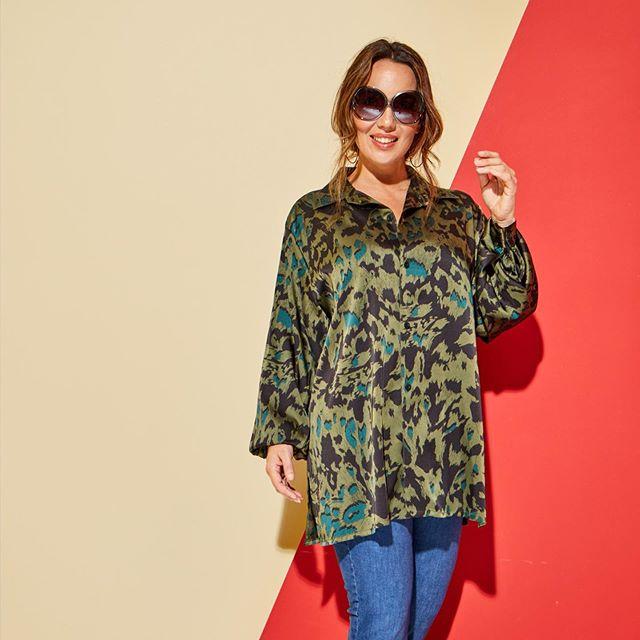camisola estampada Mamy Blue para senoras verano 2021