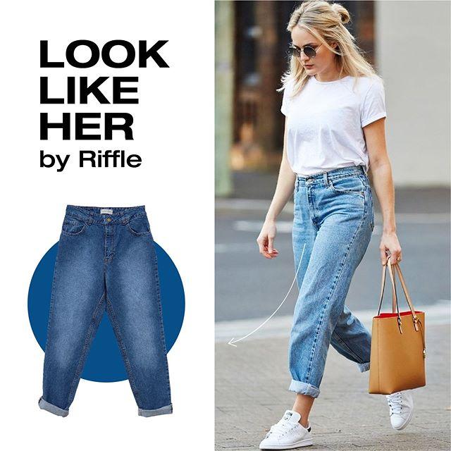 jeans mom riffle jeans verano 2021