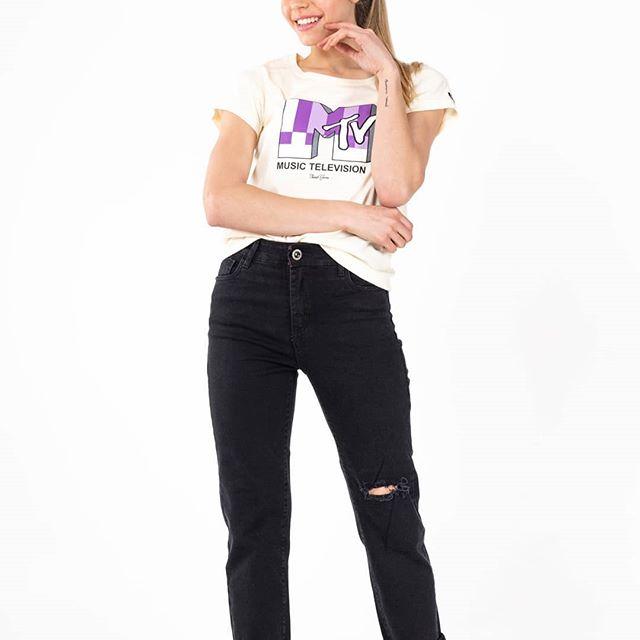 jeans negro mujer Surah verano 2021
