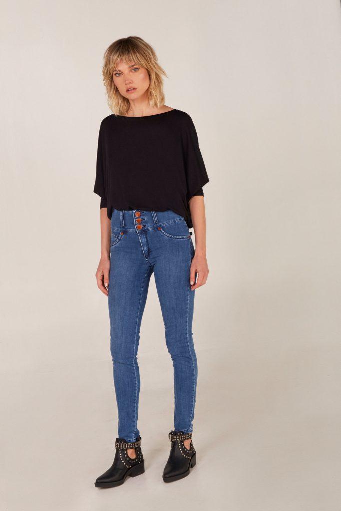 jeans tiro alto Viga jeans verano 2021
