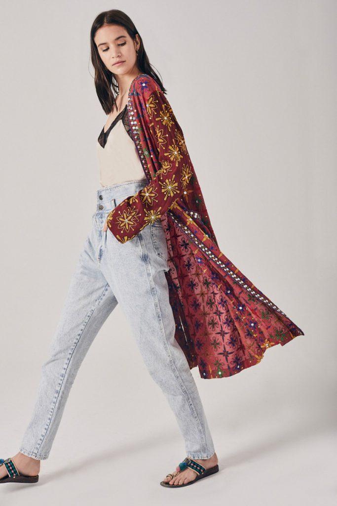 kimono mangas largas Rapsodia verano 2021