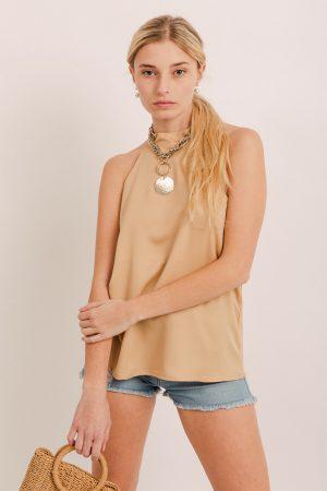 look con short y musculosa marca ropa materia verano 2021