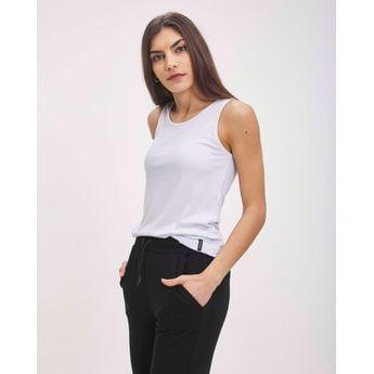 musculosa lisa mujer taverniti jeans verano 2021