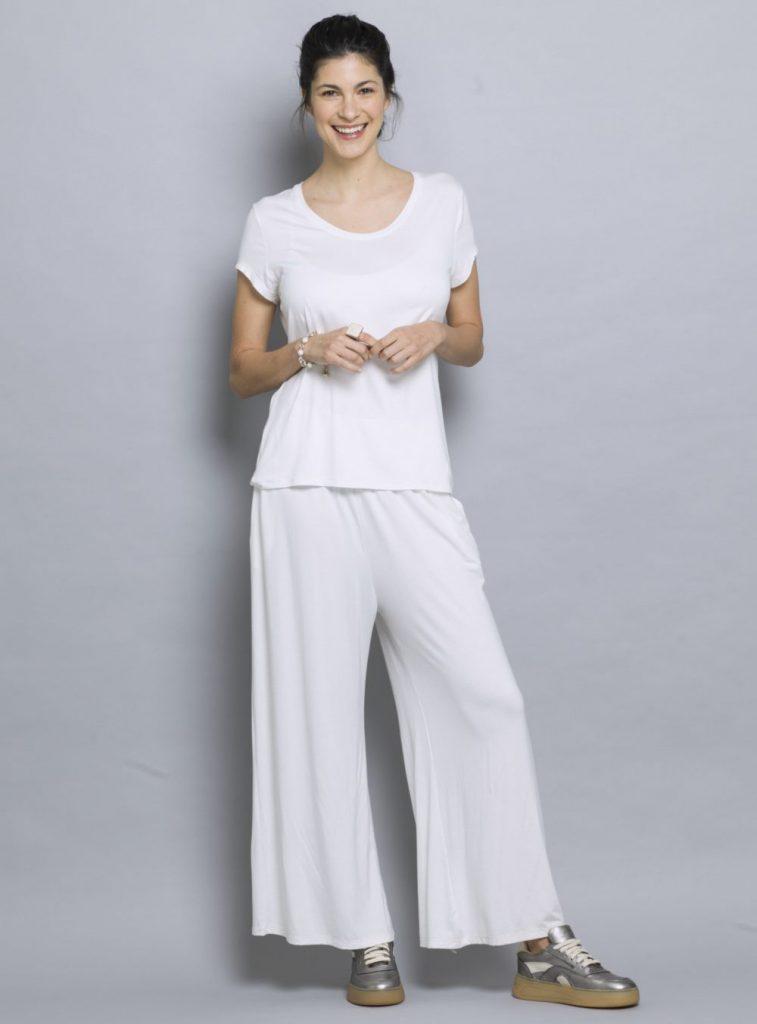 Outfits Con Pantalones Anchos Verano 2021 Notilook Moda Argentina