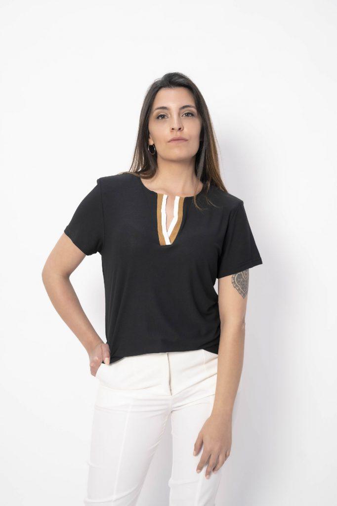 pantalon blanc recto senoras Chatelet verano 2021