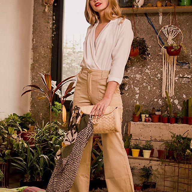 pantalones de vestir de lino mujer Eva Miller verano 2021