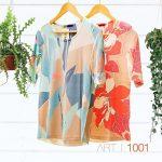Blusas y remeras estampadas para señoras verano 2021 - Vulpes