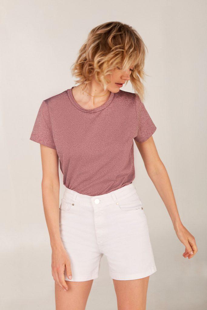 short blanco Viga jeans verano 2021