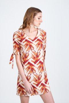 vestido corto estampado Zhoue verano 2021