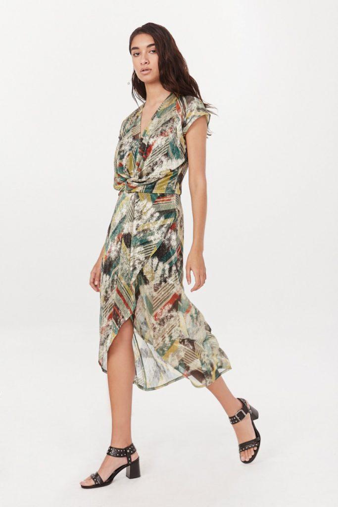 vestido cruzado Rapsodia verano 2021