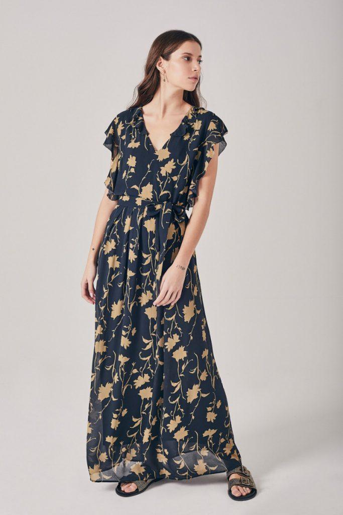 vestido estampado Rapsodia verano 2021