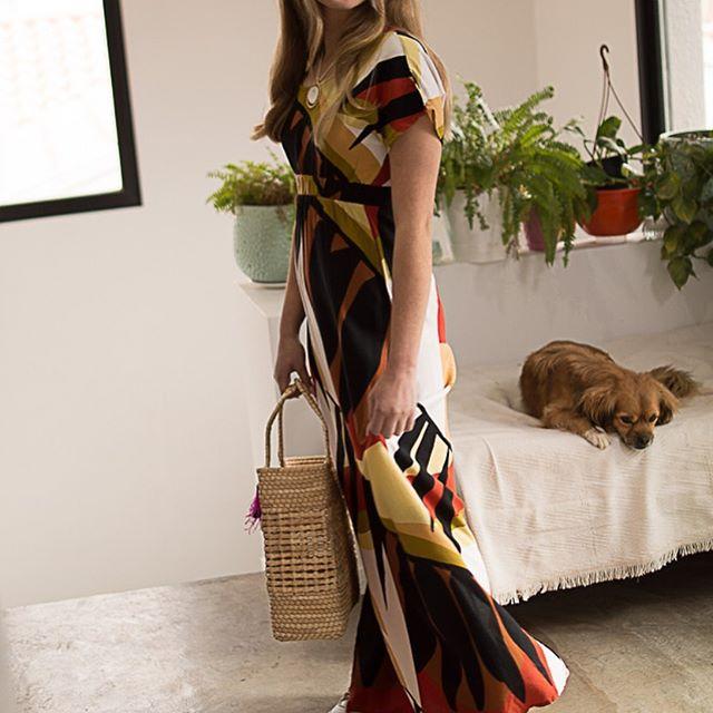 vestido largo casual Eva Miller verano 2021