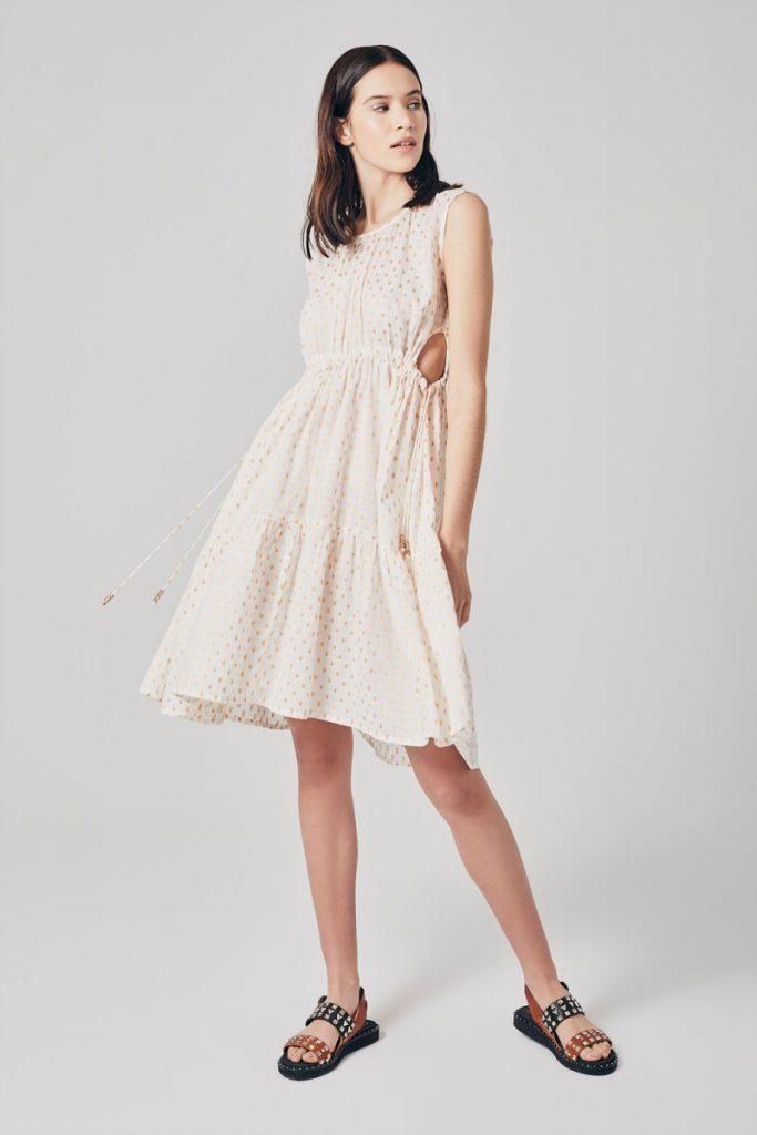 vestido urbano corto Rapsodia verano 2021