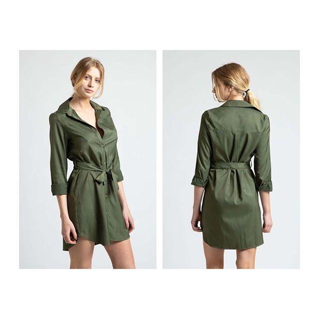 vestidos camisero trnech Inversa verano 2021