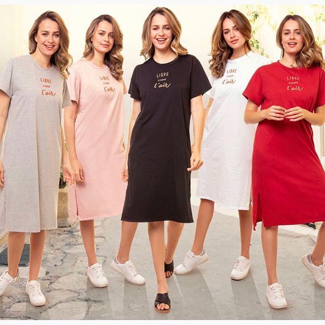 vestidos remeras largas casual AG Store Looks para mujer verano 2021