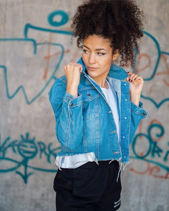 Brake up verano 2021 chaqueta jeans ruedo desflecado