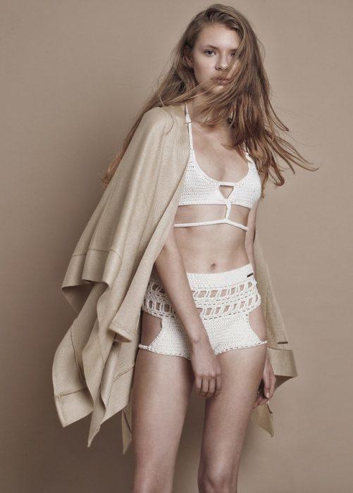 bikini de hilo Agostina Bianchi verano 2021