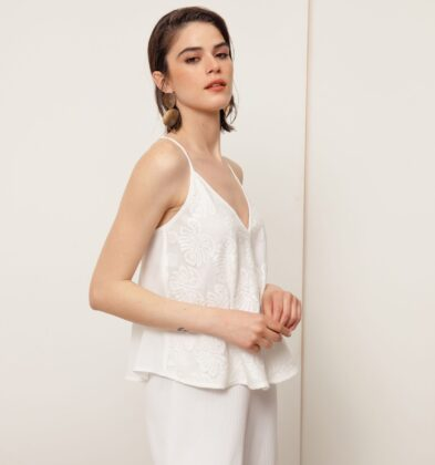 blusa blanca musculosa Buryak Verano 2021