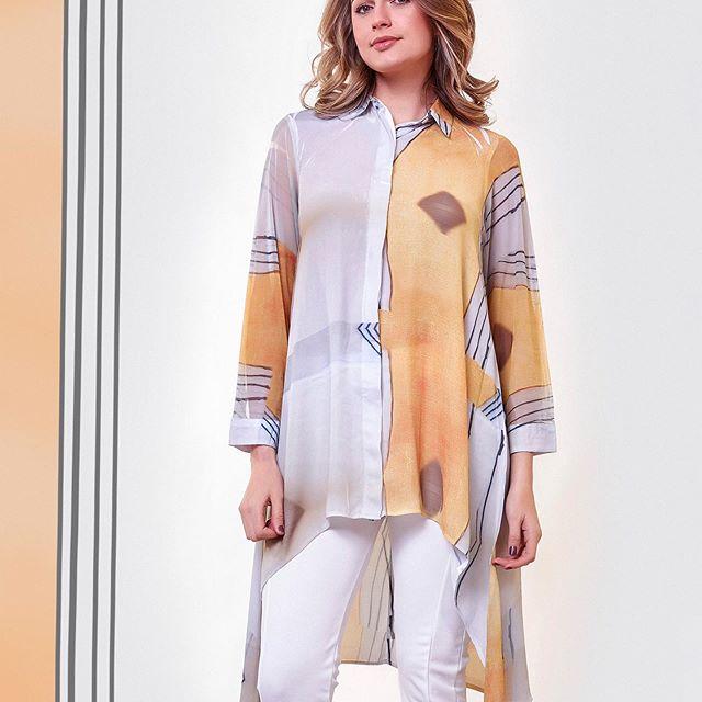 camisa asimetrica verano 2021 Exordio