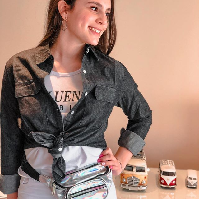 camisa denim asthenia verano 2021