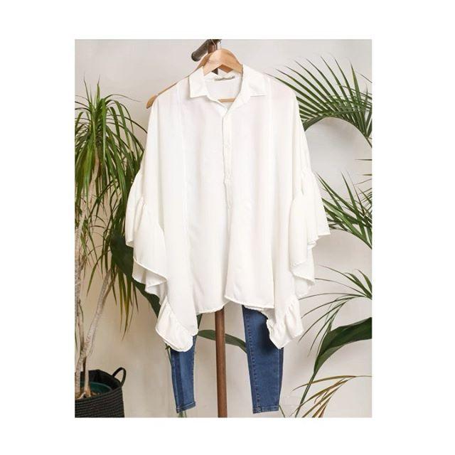 camisa poncho Cenizas Coleccion verano 2021