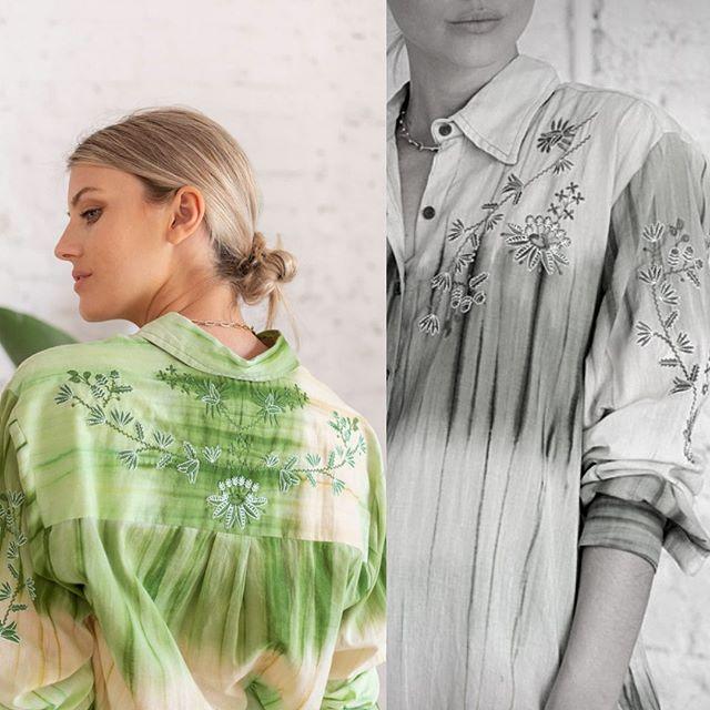 camisas batik santa Bohemia verano 2021
