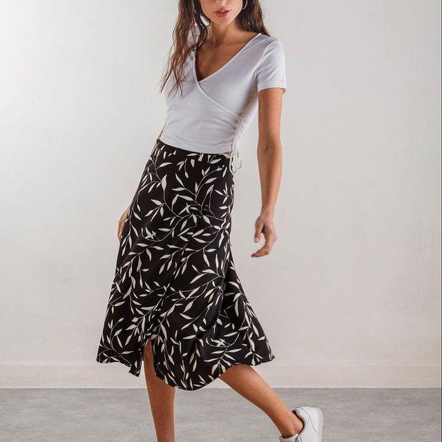 falda midi casual Wings Indumentaria para mujer verano 2021