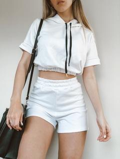 look con short y top de algodon Benka verano 2021