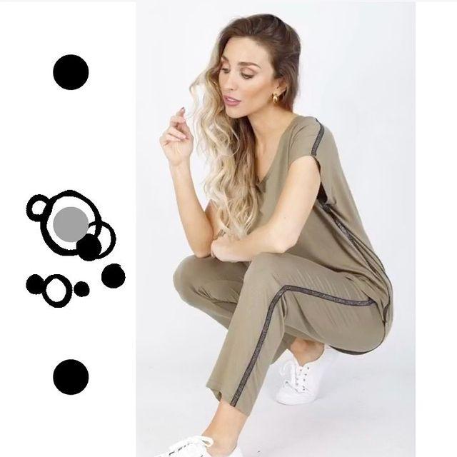 look relajado pantalon algodon Anna Fey verano 2021