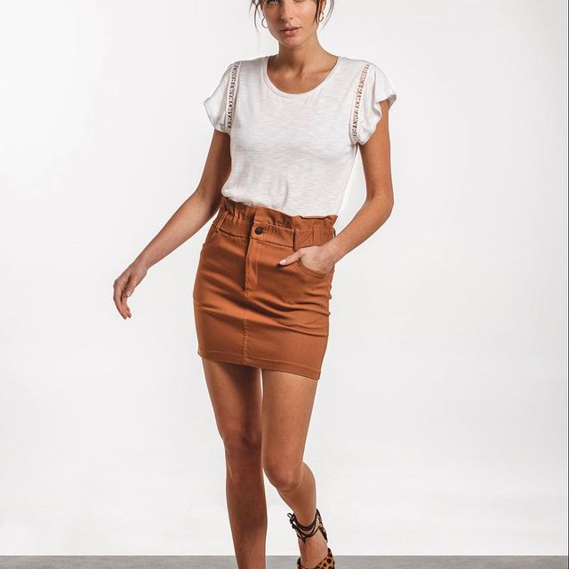 minifalda tiro alto Wings Indumentaria para mujer verano 2021