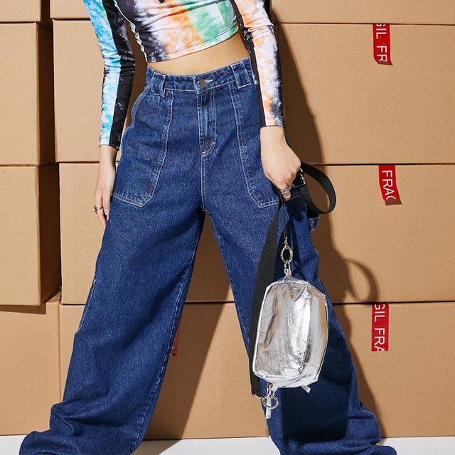 pantalon jeans anchos Complot verano 2021